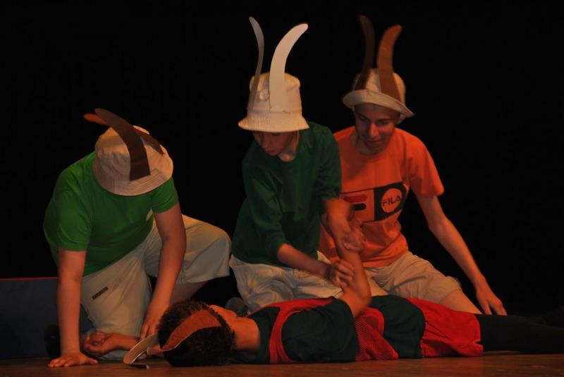 Specjalny ośrodek wychowawczy zajęcia teatralne